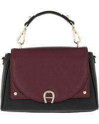 Aigner Handle Bag Diadora Burgundy - Rouge