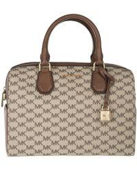 Michael Kors | Mercer Md Duffle Natural/luggage | Lyst