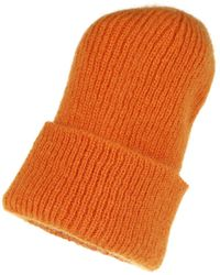 Becksöndergaard Jadia Beanie Golden Yellow - Orange