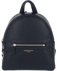 Longchamp - 2.0 Backpack Leather Marine - Lyst