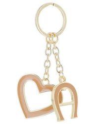 Aigner Fashion Keychain Heart - Metallic
