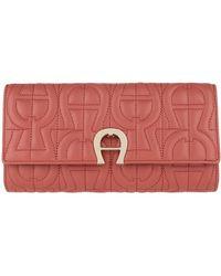 Aigner Genoveva Wallet Dusty Rose - Rouge
