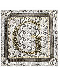 Guess Kirby Printed Scarf - Marron
