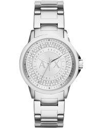 Armani Exchange Lady Banks Stainless Steel Women's Watch - Metallic