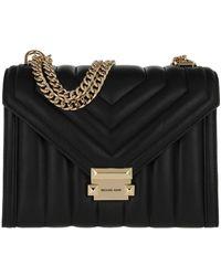 Michael Kors Large Shoulder Handbag Leather Black - Noir