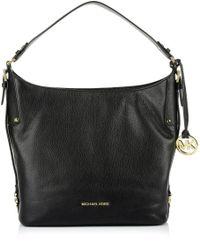 Ash Bedford Belted Lg Shoulder Bag Black