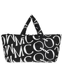 McQ Mono Tote Bag - Noir