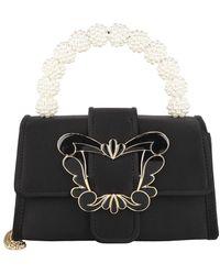 Sophia Webster Margaux Mini Shoulder Bag Black/Pearl - Noir