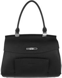 Longchamp - Madeleine Shoulder Bag Leather Black - Lyst