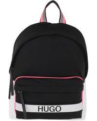 HUGO Record Backpack Black