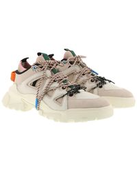 McQ Cream Orbyt Trainers - Natural