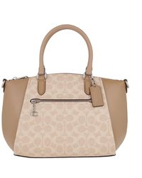 COACH Satchel Bag Sand Taupe - Brown