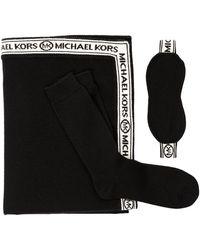 Michael Kors Eco Travel Gift Set Black - Noir