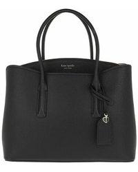Kate Spade Margaux Large Satchel Bag - Noir