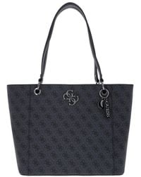 Guess Noelle Elite Tote Coal - Noir
