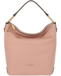 Coccinelle Liya Hobo Bag Pivoine Taupe - Pink