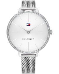 Tommy Hilfiger Women Quartz Watch 1782113 Silver - Métallisé