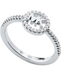 Michael Kors MKC1250AN040 Ladies Ring Silver - Métallisé