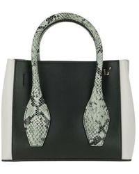L'Autre Chose Mini Tote Bag - Black