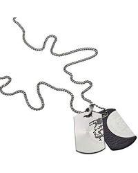 DIESEL Necklace Dx0289040 - Metallic