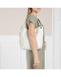 Ted Baker Chloe Soft Leather Hobo Bag - Naturel