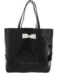 Ted Baker Hanacon Bow Large Icon Black