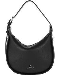 Aigner Ivy Handle Bag Black
