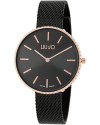 Liu Jo Tlj1416 Glamour Globe Maxi Quartz Watch Black