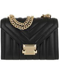 Michael Kors Whitney Large Shoulder Bag Black - Noir