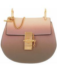 Chloé Mini Drew Shoulder Bag - Mehrfarbig