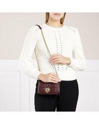 Dolce & Gabbana Devotion Crossbody Mini Bag Leather - Rood