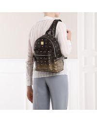 MCM Stark Gradation Visetos Backpack Gold - Métallisé