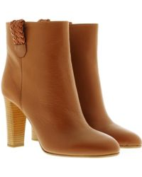 HUGO | Geller Bootie Light Pastel Brown | Lyst