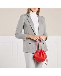 MCM Candy Drawstring Small - Rood