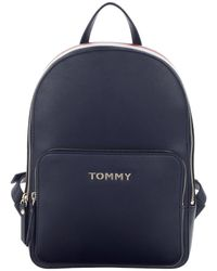 Tommy Hilfiger Corporate Backpack Corporate Mix - Bleu