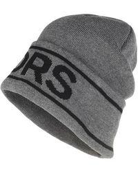 Michael Kors Vertical Logo Cuff Hat - Black