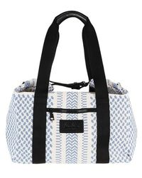 Lala Berlin Big Bag Muriel X-stitch - Multicolour