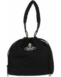 Vivienne Westwood Hilary Bucket Bag Black - Schwarz
