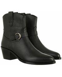 Aigner Western Style Bootie - Black