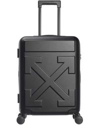 Off-White c/o Virgil Abloh Valise de cabine noire Arrows Trolley