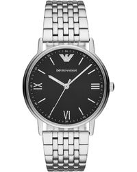 Emporio Armani - Men's Kappa Stainless Steel Bracelet Watch 41mm - Lyst