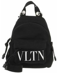 Valentino Garavani Mini Crossbody Backpack - Black