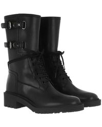 Valentino - Low Boots Leather - Lyst