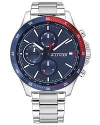 Tommy Hilfiger Men Multifunctional Watch Bank - Multicolore