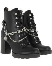 Guess Raizel Bootie Leather Black - Noir