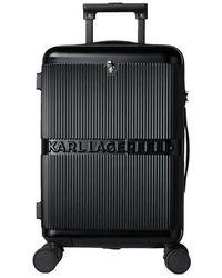 Karl Lagerfeld K/Ikonik Hardcase Trolley - Noir