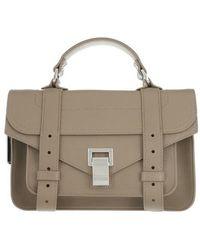 Proenza Schouler PS1 Tiny Bag - Gris