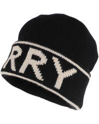 Burberry Logo Hat Beanie Cashmere Black - Noir