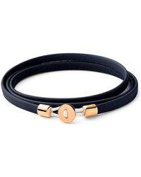 Miansai - Nexus Wrap Bracelet Gold Vermeil Polished S - Lyst