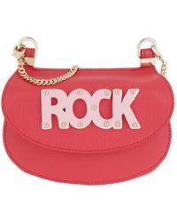 Patrizia Pepe - Rock Crossbody Bag Small Vivid Red - Lyst